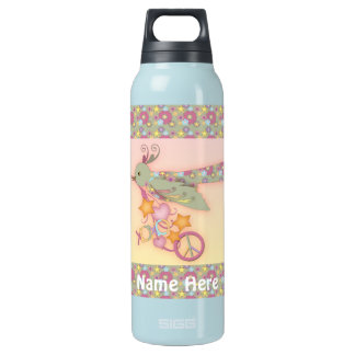 Peace, Love, and All Good Things Drink Bottle