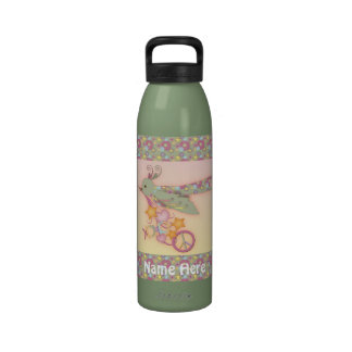 Peace, Love, and All Good Things Drink Bottle Reusable Water Bottle