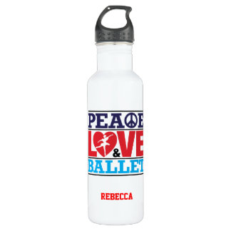 Peace, Love and Ballet Liberty Bottle