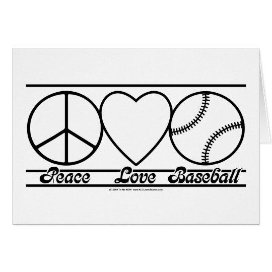 Peace Love and Baseball Card