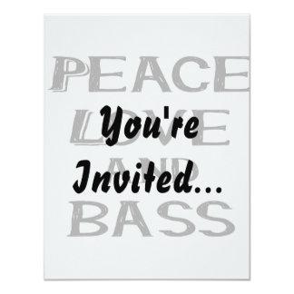 peace love and bass bernice black card