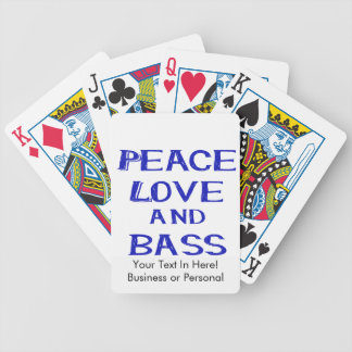 peace love and bass bernice blue.png bicycle playing cards