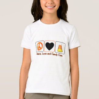 Peace, Love and Candy Corn T-Shirt
