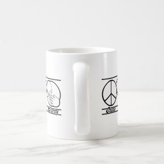 Peace Love and Charity Mugs