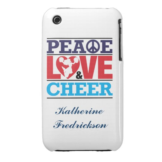 Peace, Love and Cheer Case-Mate