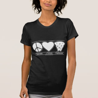 Peace Love and Cheese T-Shirt