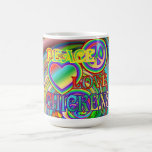 Peace, Love, and Chickens Coffee Mug