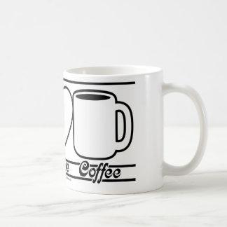 Peace Love and Coffee Coffee Mug