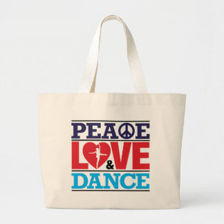 Peace, Love and Dance Bag