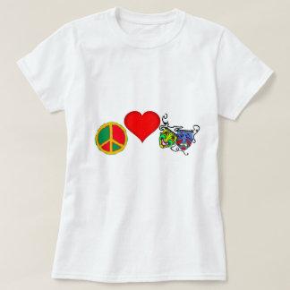 Peace, Love and DRAMA CLUB T-Shirt