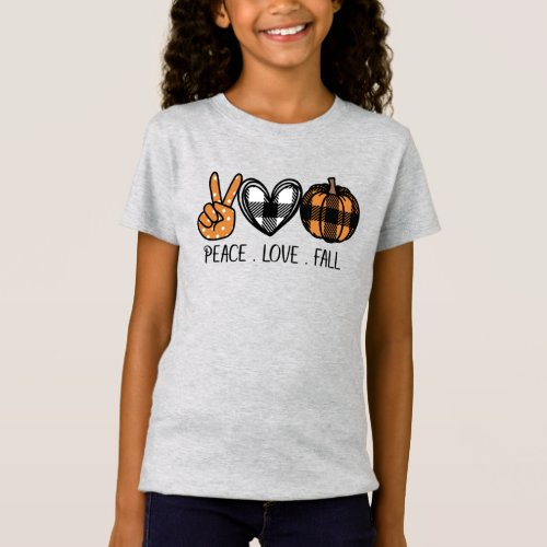 Peace Love and Fall T-Shirt