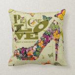 Peace Love and Fashion, xo PJ. Pillow