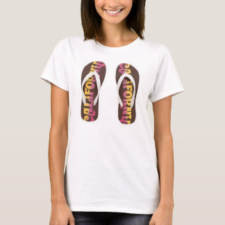 PEACE LOVE AND FLIP FLOPS shirt