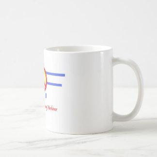 Peace, Love and Flying Machines Coffee Mug