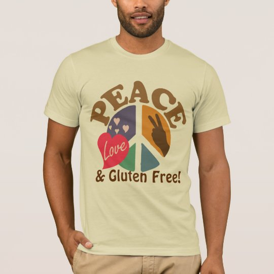 Peace Love and Gluten Free T-Shirt