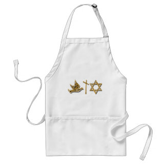 Peace Love and Happiness Adult Apron