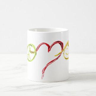 Peace, Love and Happiness Coffee Mug