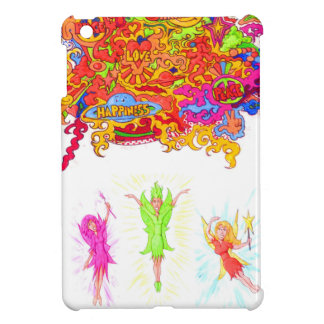 Peace, Love and Happiness Fairies. iPad Mini Case