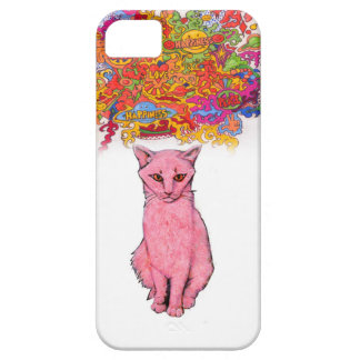 Peace Love and Happiness Kitty iPhone SE/5/5s Case