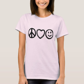 Peace, Love and Happiness Shirt