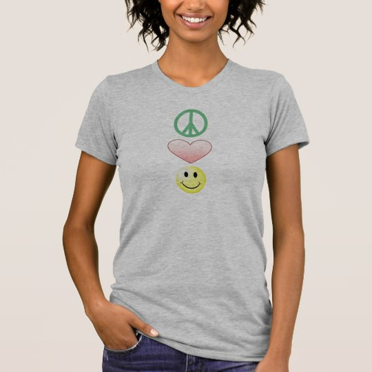 Peace, Love and Happiness! T-Shirt