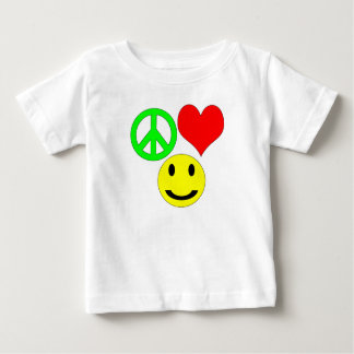 peace love and happiness wish t shirt