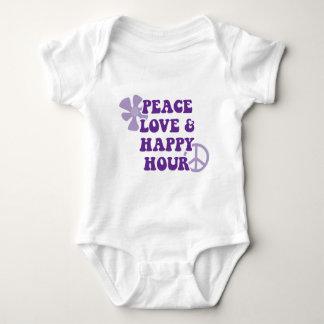 Peace Love and Happy Hour Tee Shirt