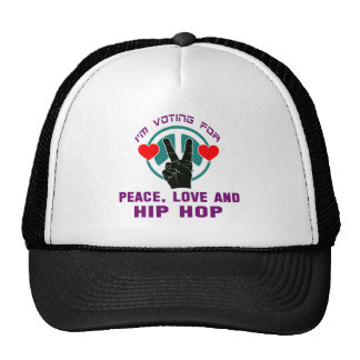 Peace Love And Hip Hop. Trucker Hat
