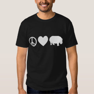 Peace Love and Hippos T-Shirt
