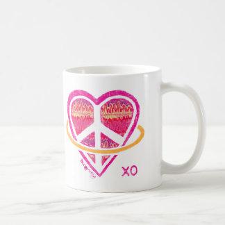 Peace, Love and Hooping Classic Mug