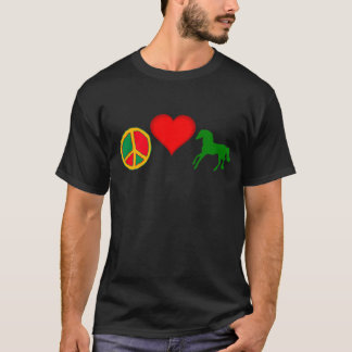 Peace, Love and HORSES T-Shirt