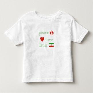 Peace Love and Iran T-shirts