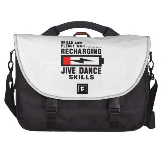 Peace Love And Jive Dance Bag For Laptop