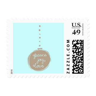 Peace, Love and Joy Postage