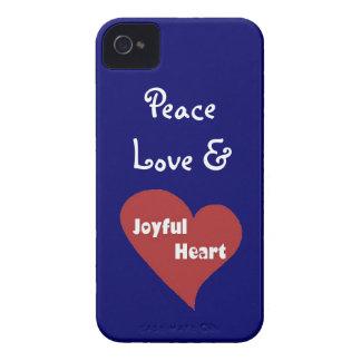 Peace Love and Joyful Heart Phone case