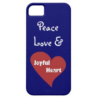 Peace Love and Joyful Heart Phone case iPhone 5 Covers