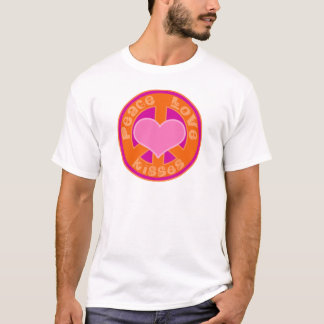 Peace Love and Kisses T-Shirt