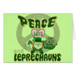 Peace Love and Leprechauns Cards