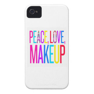Peace, Love and Makeup iPhone 4 Case