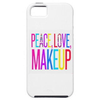 Peace, Love and Makeup iPhone SE/5/5s Case