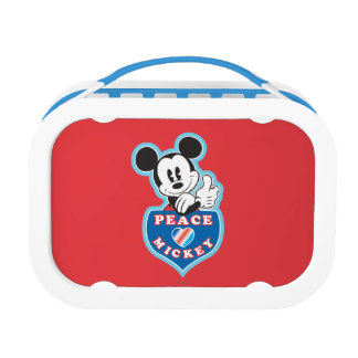 Peace Love and Mickey Yubo Lunchbox