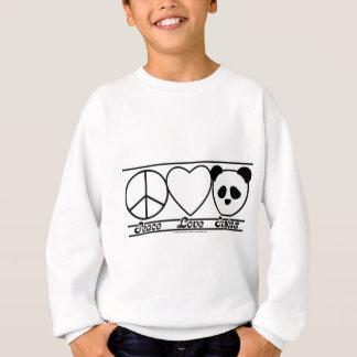 Peace Love and Pandas Sweatshirt