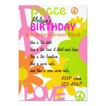 Peace, Love and Party Custom Invites