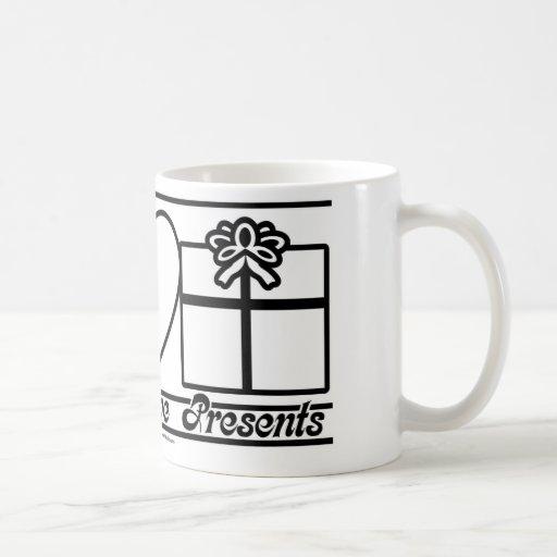 Peace Love and Presents Coffee Mug
