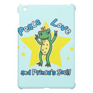 Peace love and Princes' soul frog prince iPad Mini Case