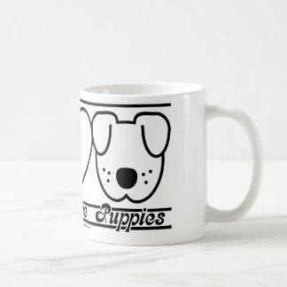 Peace Love and Puppies Coffee Mug