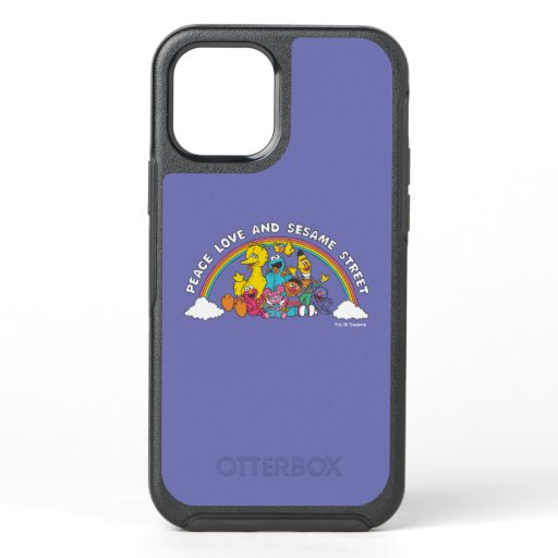 Peace, Love and Sesame Street OtterBox Symmetry iPhone 12 Case