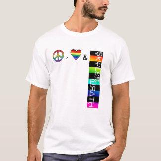 peace love and skyler wrath T-Shirt