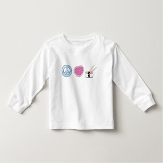 Peace Love and Sushi Toddler T-shirt