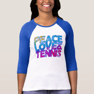 Peace love and Tennis T-Shirt